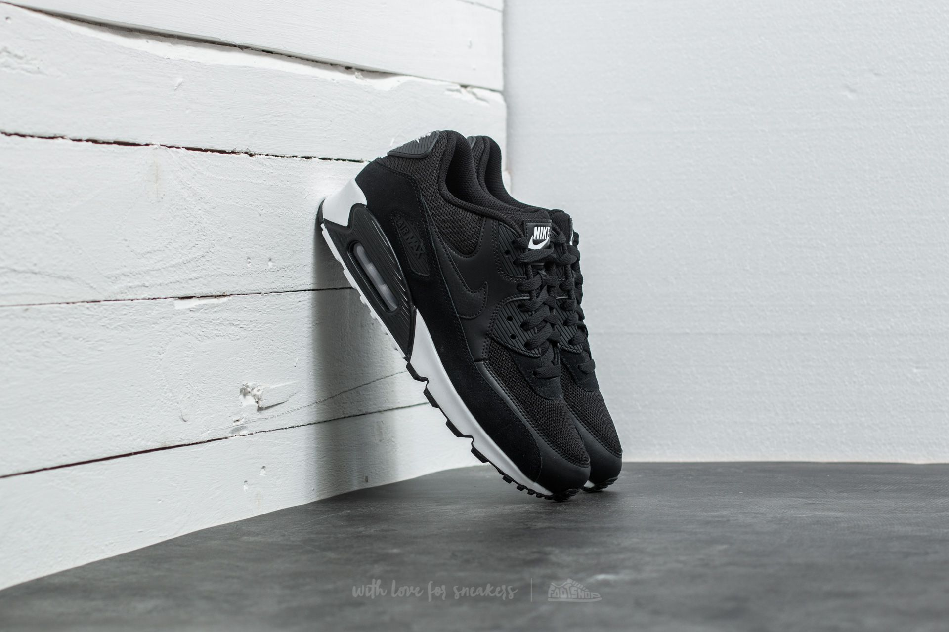 884776236029 UPC - Nike Air Max 90 Essential Black/ Black White