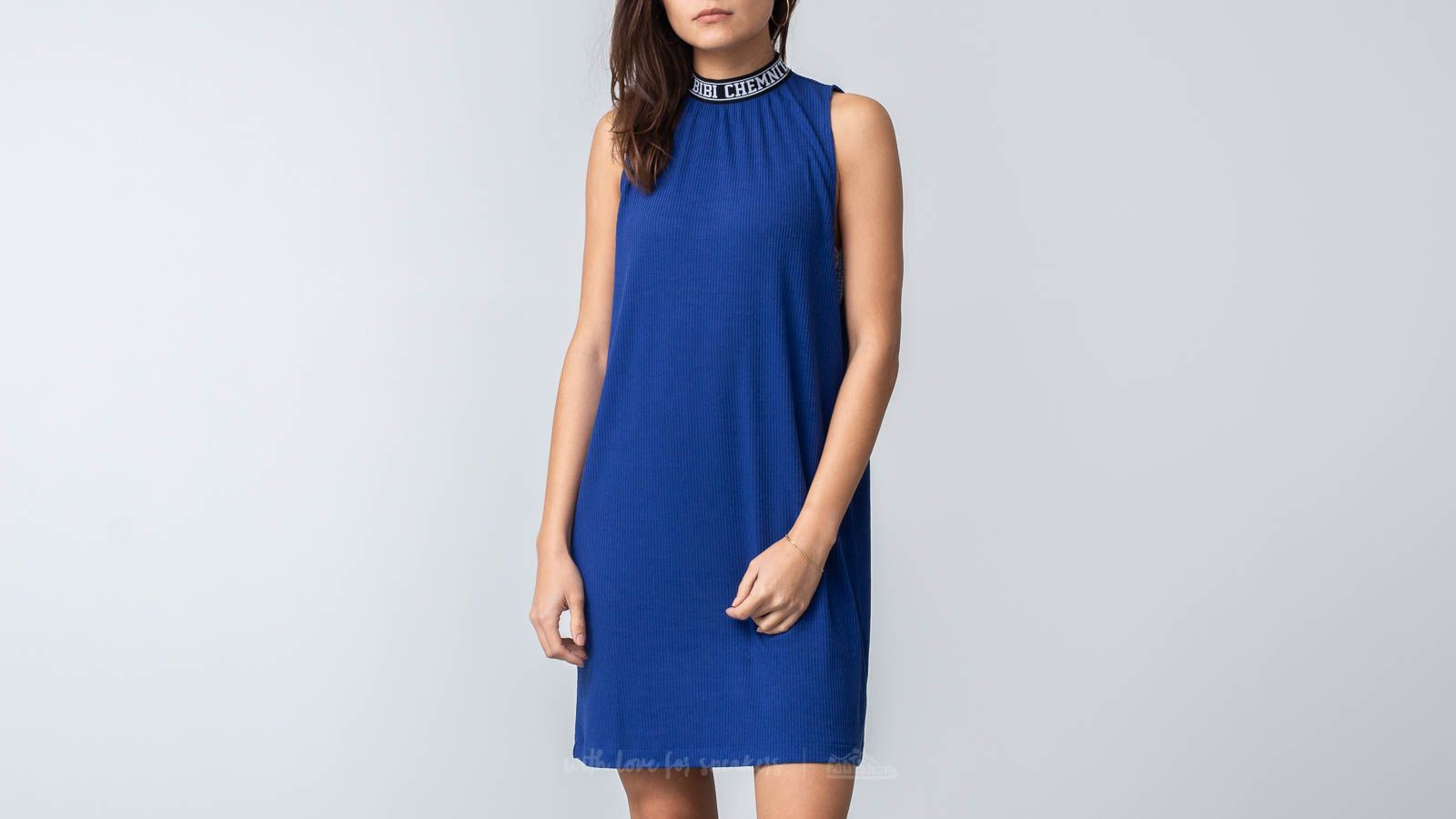 Bibi Chemnitz Rib Dress Blue