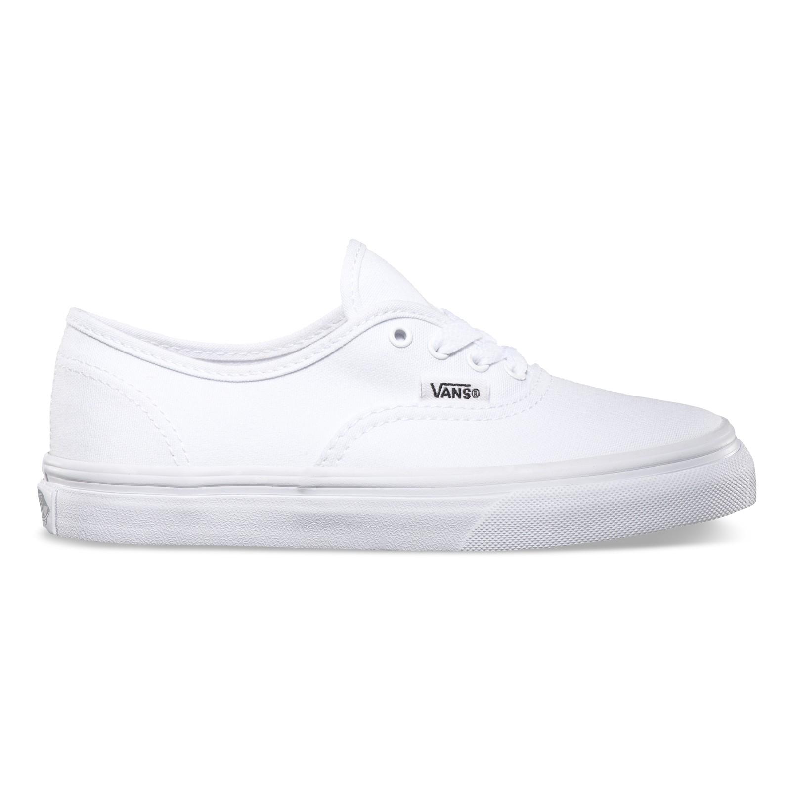 Vans Kids AUTHENTIC true White