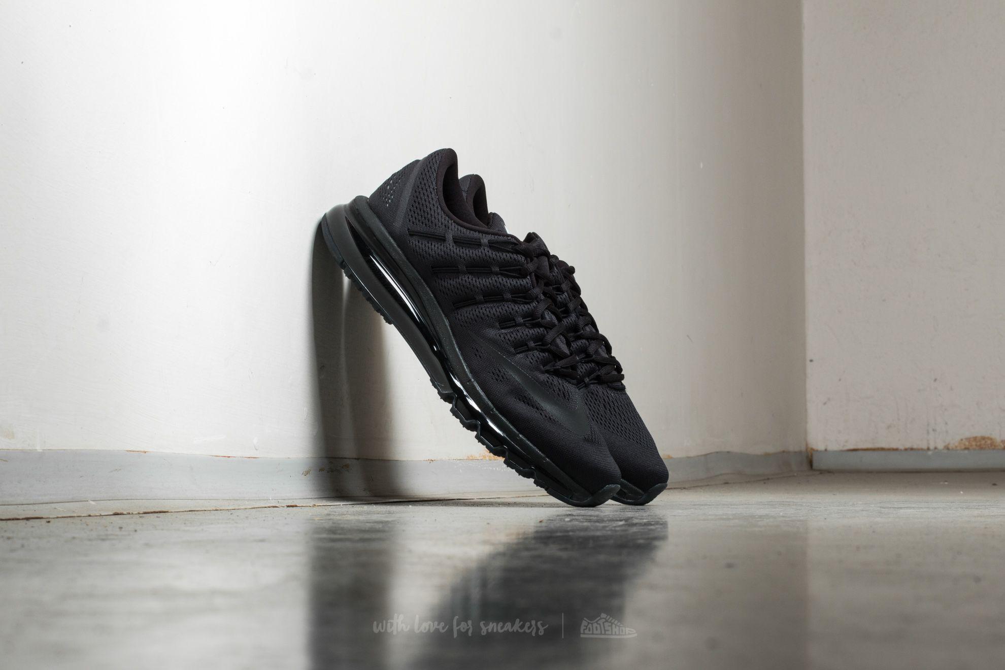 quality design 55e20 ca852 Nike Air Max 2016 Black  Black-Black