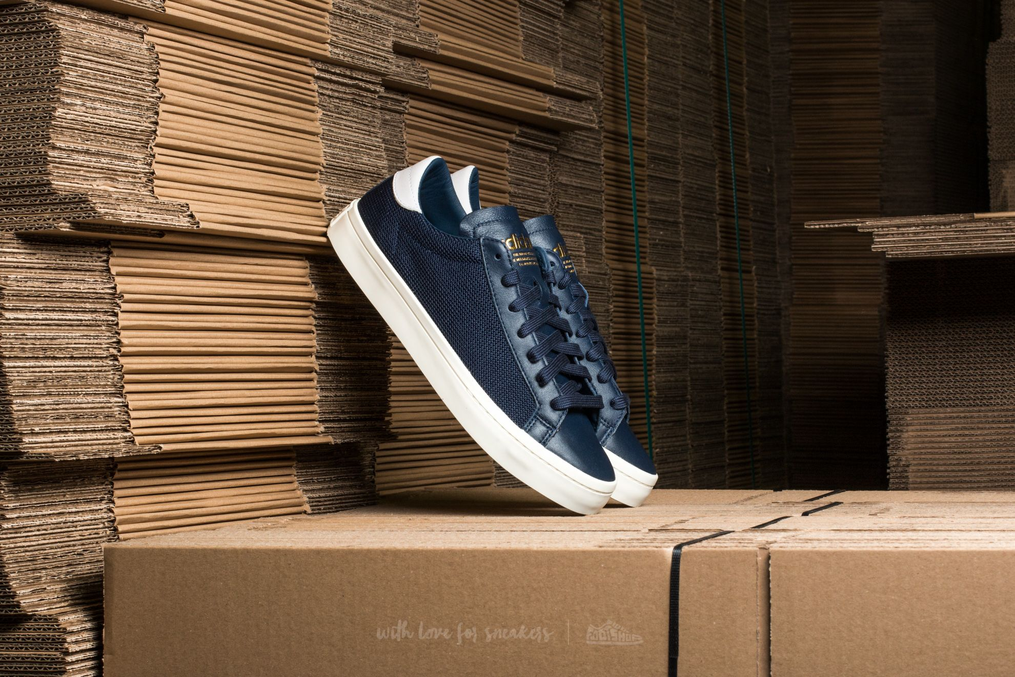 adidas Court Vantage Collegiate Navy/ Collegiate Navy/ Ftw White