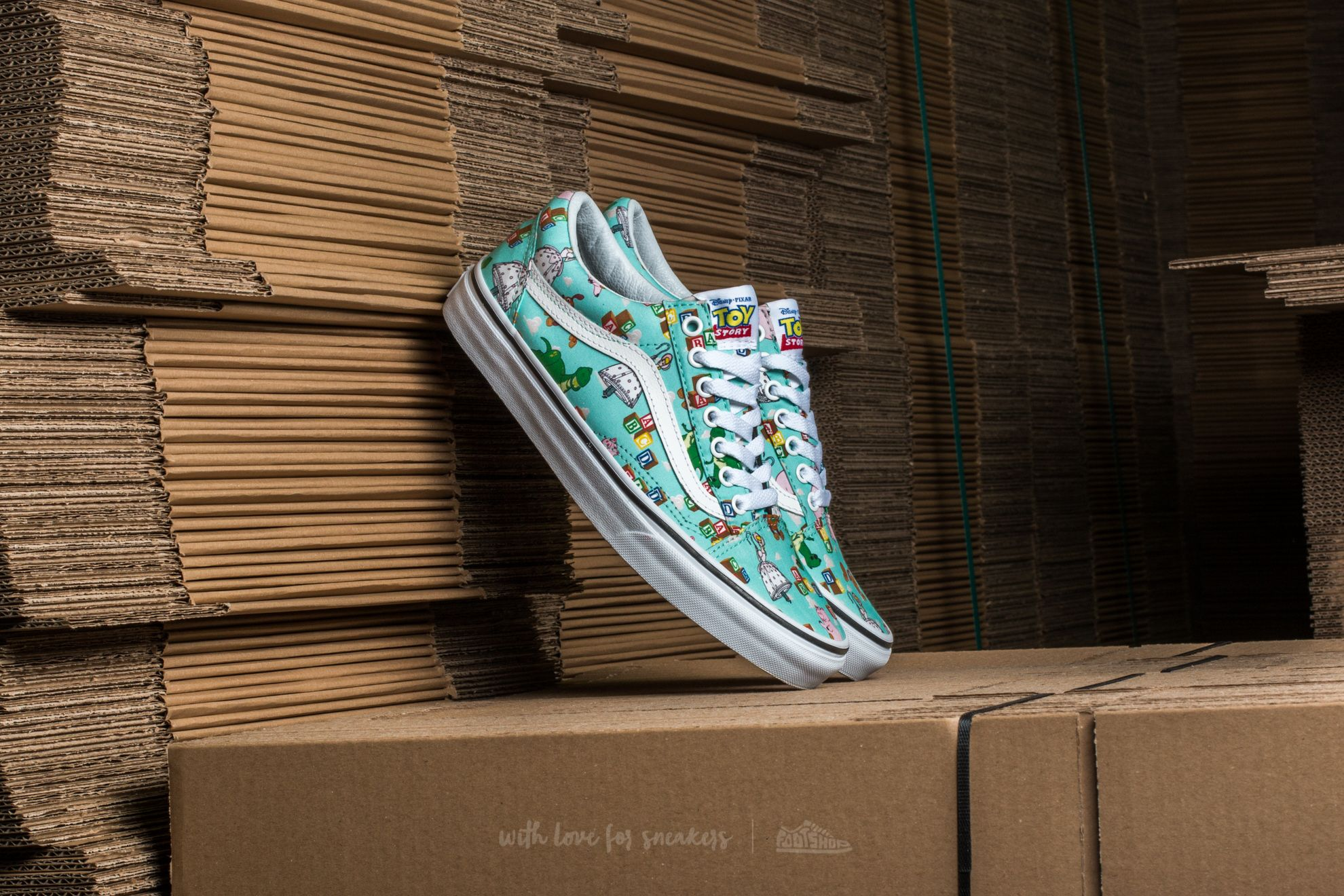 Vans Old Skool (Toy Story) Andy's Toys Blue Tint