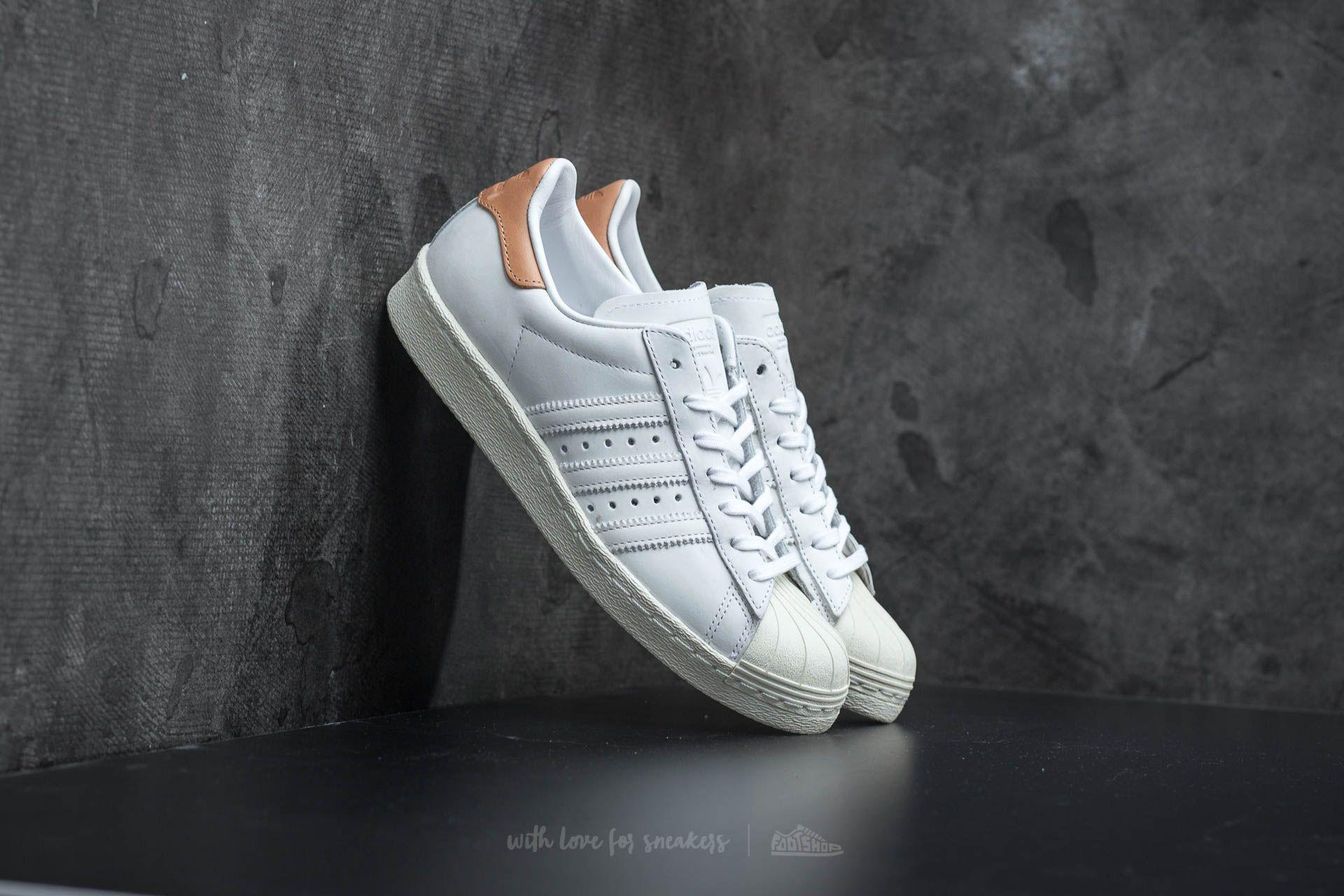 Adidas Originals Superstar 80s - Sneakers - Clear Granite/Off Wh