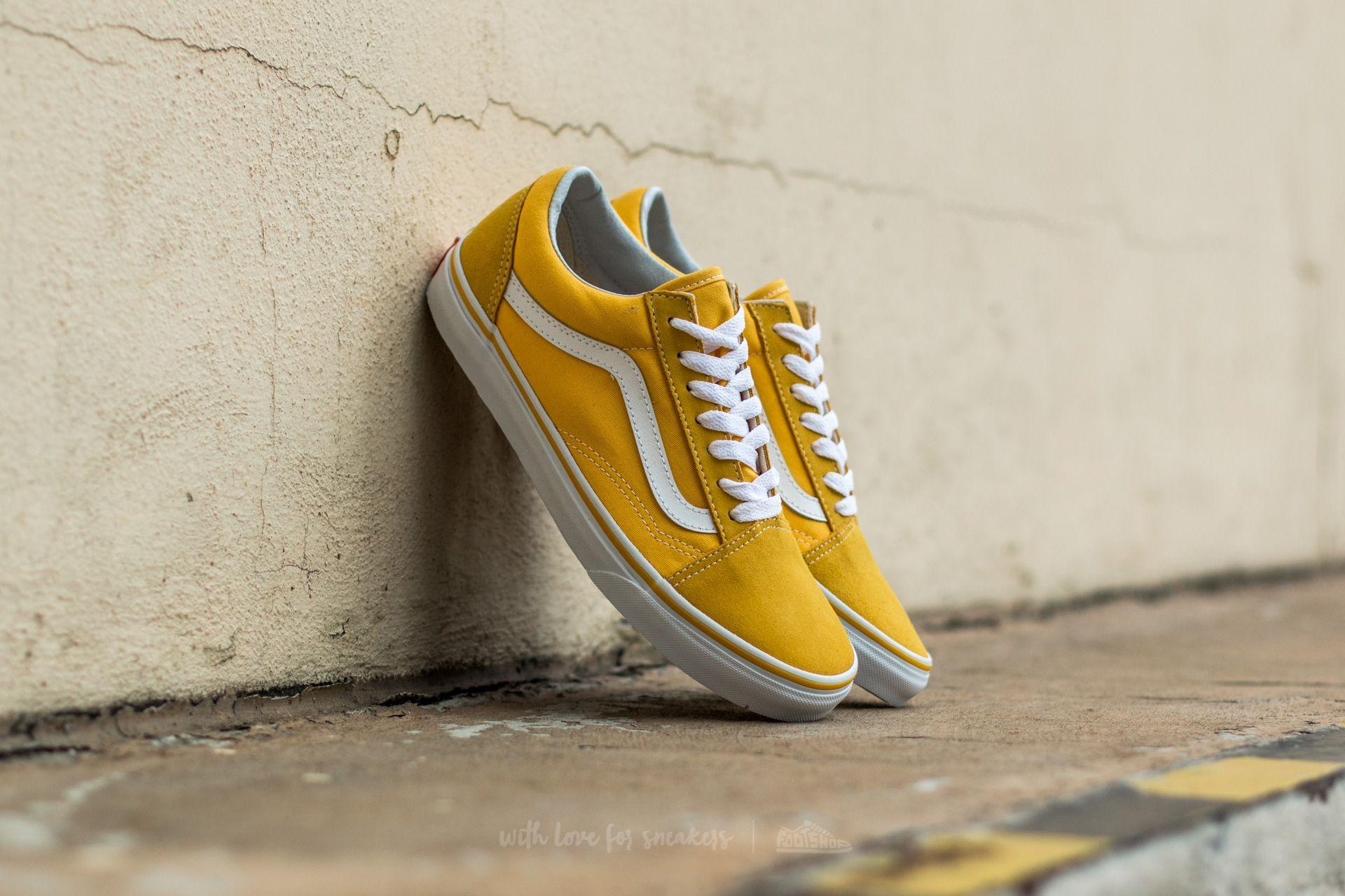 Vans Classics Old Skool Yellow Sneaker en 2020 | Chaussure