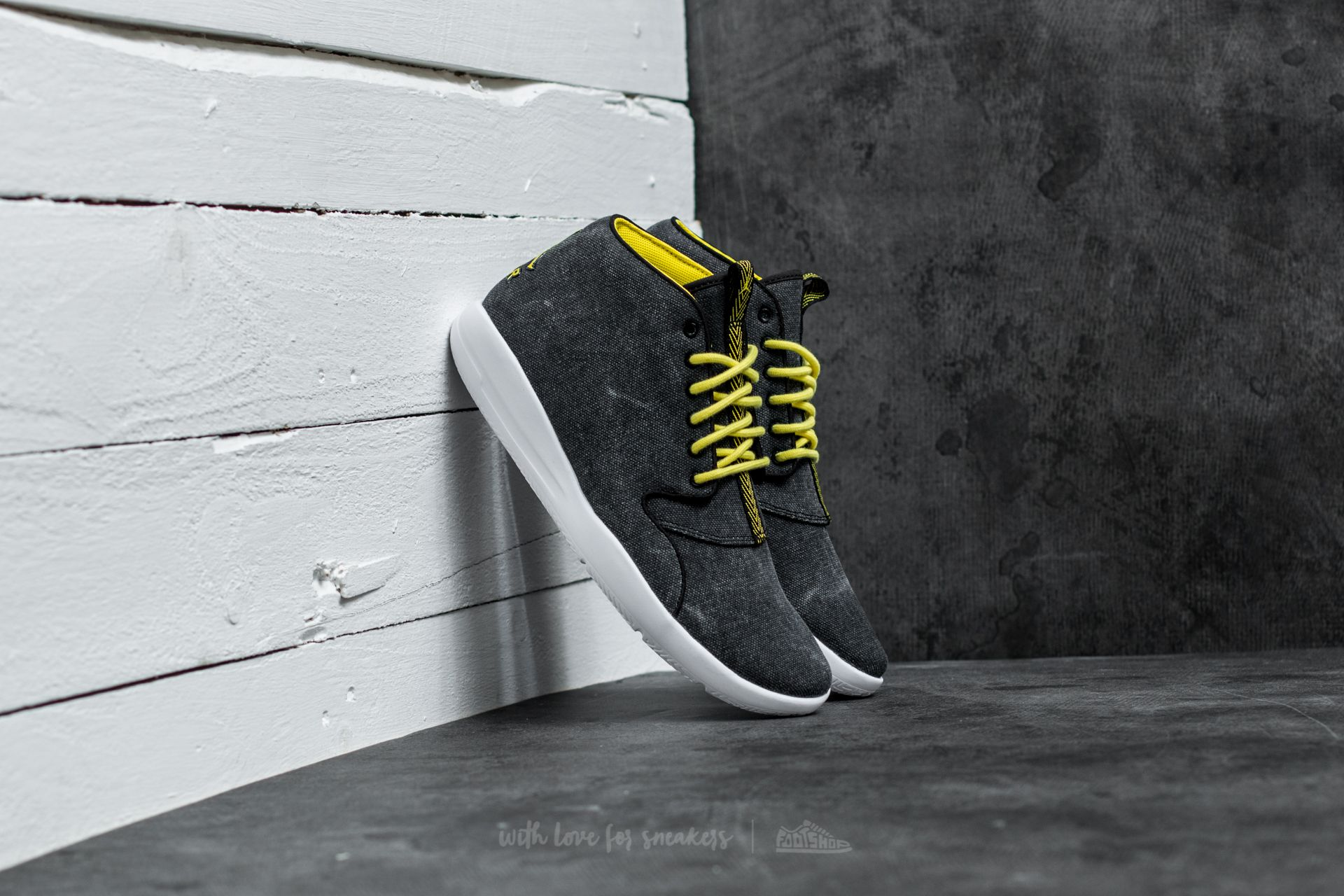Jordan Eclipse Chukka Black/ Opti Yellow-White