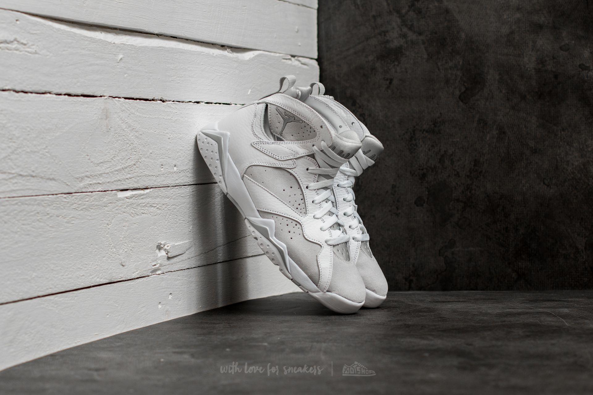 Air Jordan 7 Retro White/ Metallic Silver