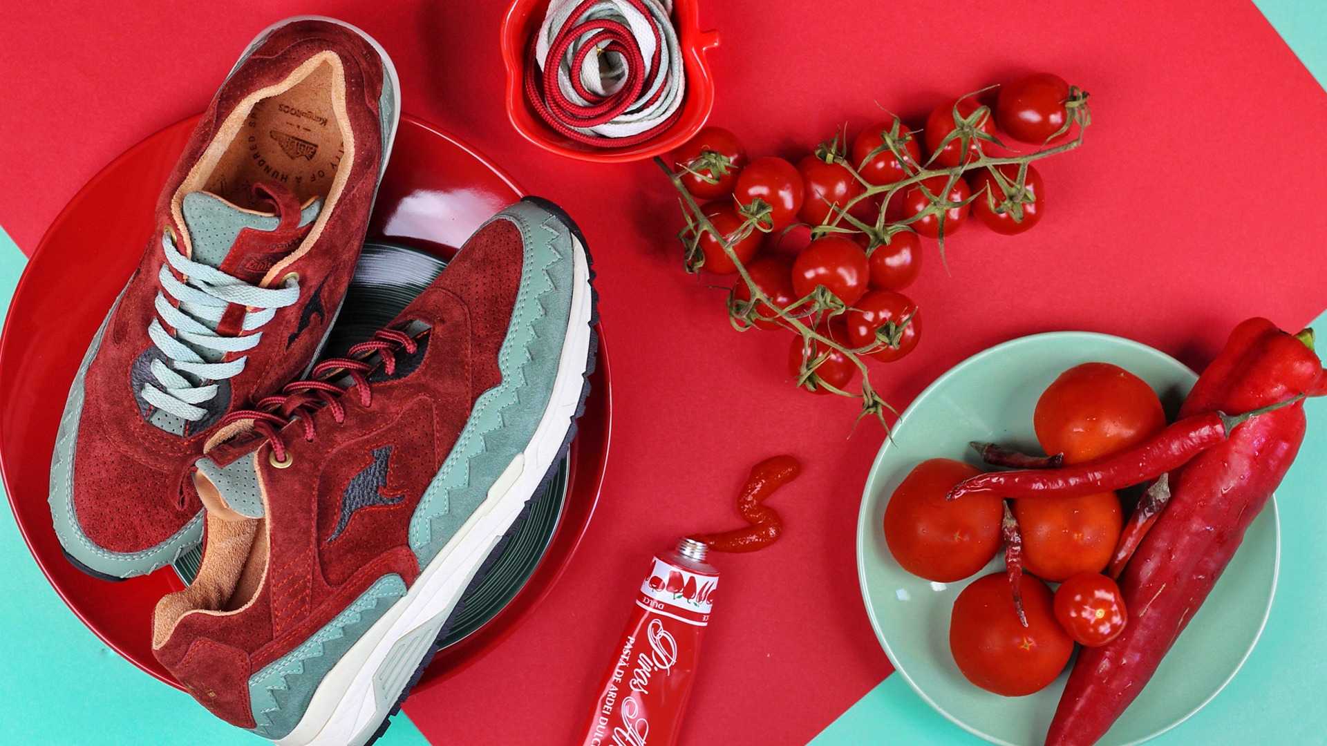 "LaFrenezia x Footshop ""Food & Sneakers"" #2"