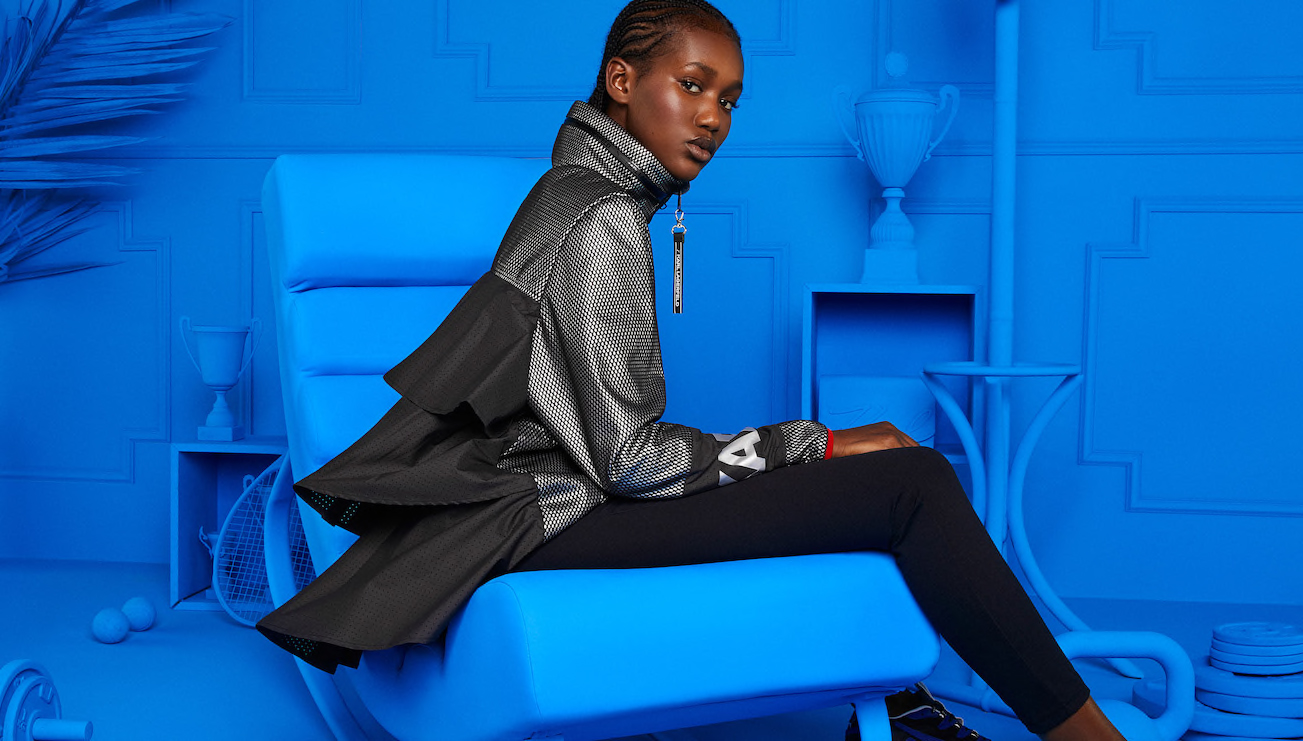 Karl Lagerfeld's new collaboration with Puma