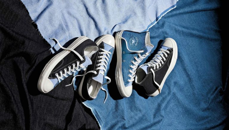 The second Converse Renew collection recycles your old jeans once again