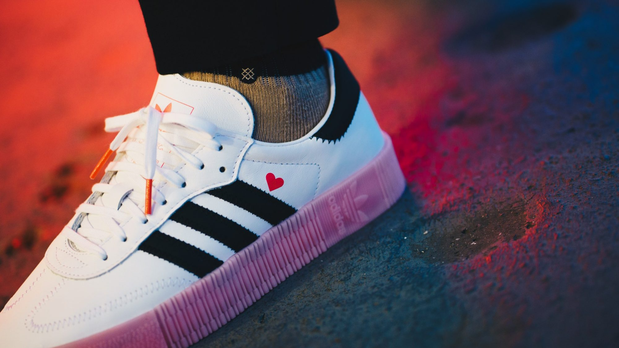 A romantic gift from the three stripes: adidas Valentine's Pack