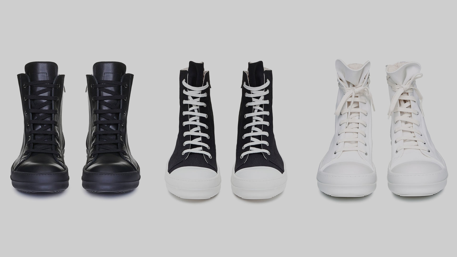 How Nike (almost) sued Rick Owens