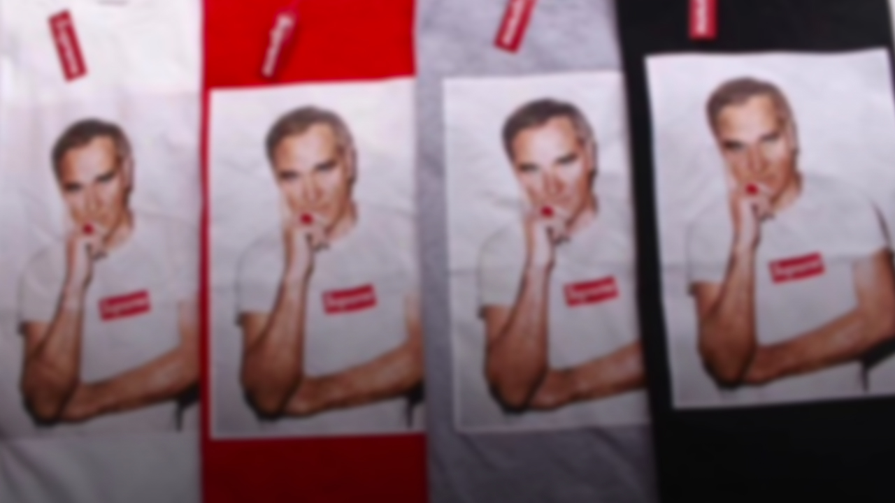 Supreme's unsuccessful collaboration with Morrissey