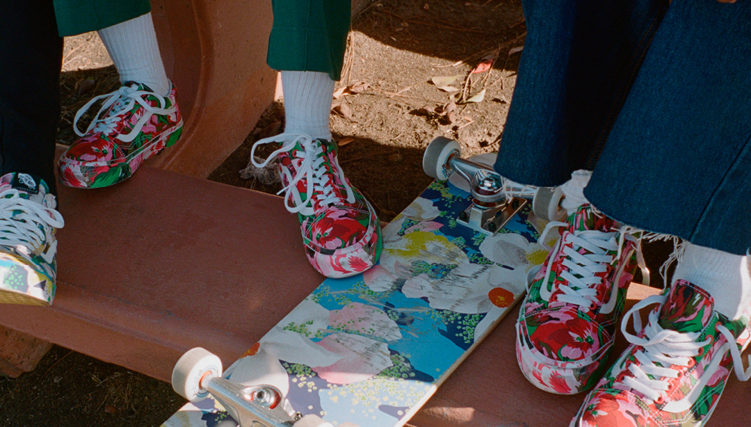 KENZO and Vans present a new collection featuring archive prints