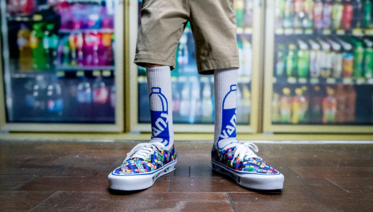 Vans and Fergus Purcell present a psychedelic collection
