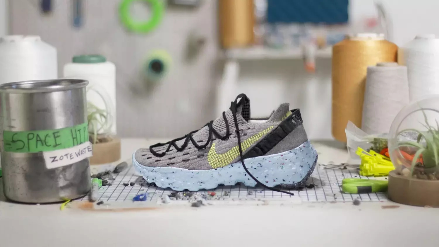 Space Hippie and Nike's road to #sustainability