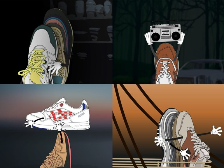 When sneakers replace actors. Can you guess the iconic scenes from romantic movies?