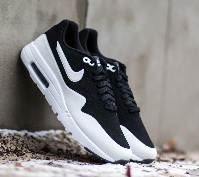 nike air max 1 ultra moire black white black footshop. Black Bedroom Furniture Sets. Home Design Ideas