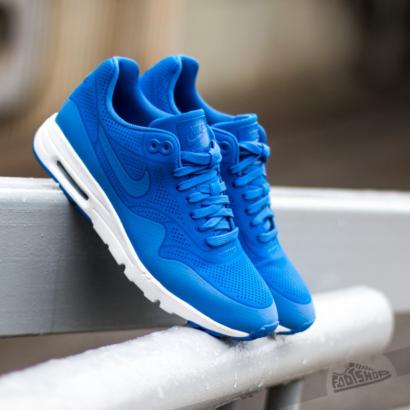 nike wmns air max 1 ultra moire game royal game royal. Black Bedroom Furniture Sets. Home Design Ideas