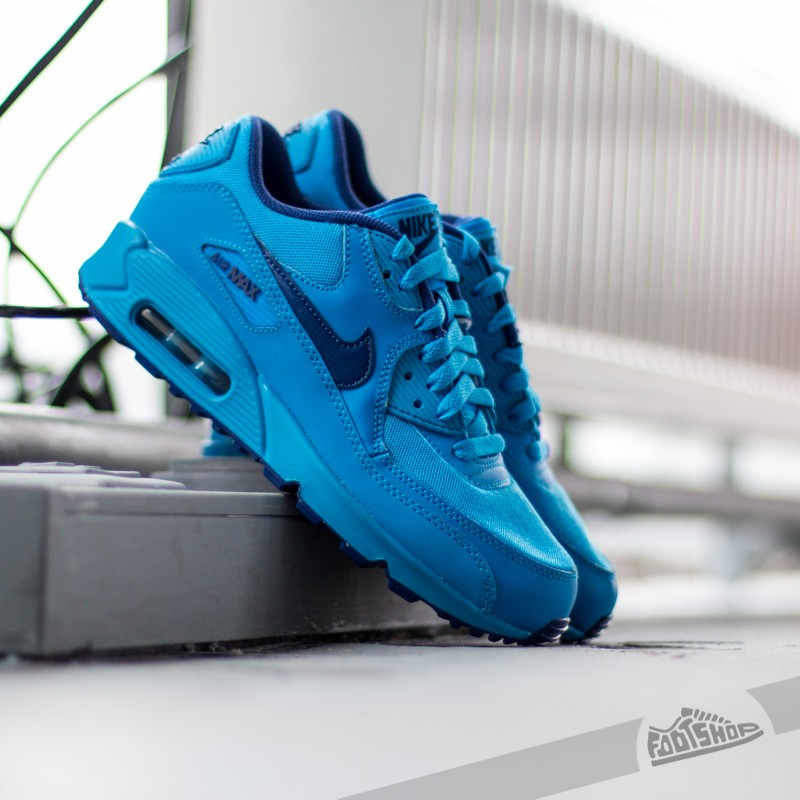 air max 90 gs blue