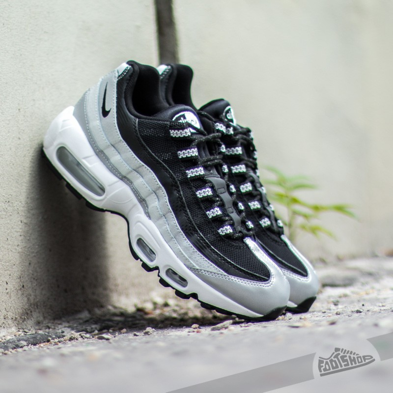 Nike Air Max 95 Metallic Platinum Black White