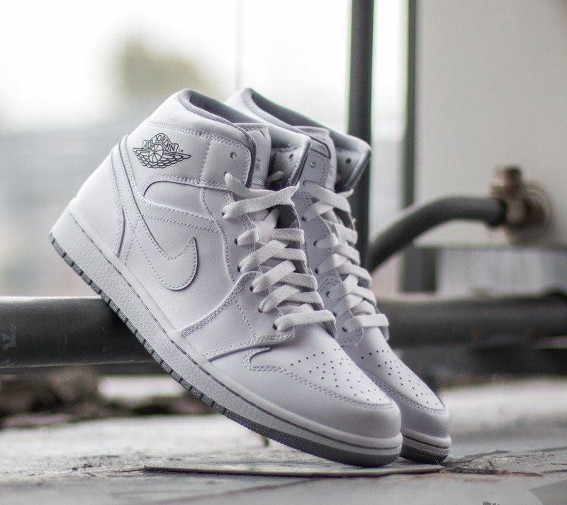 new product cad34 09247 nike air jordan 1 mid white