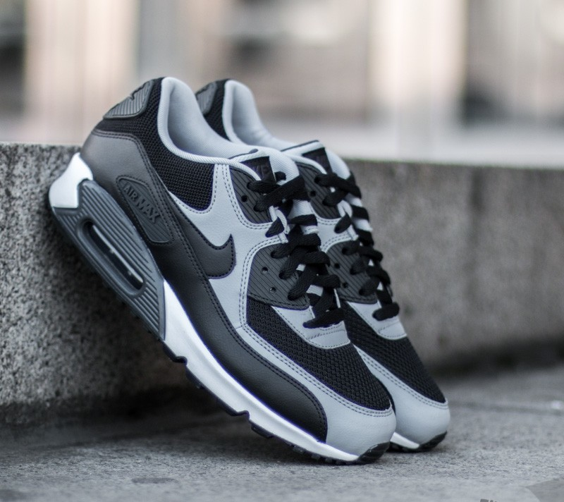 Nike Air Max 90 Essential Wolf Grey White Dark Royal Blue