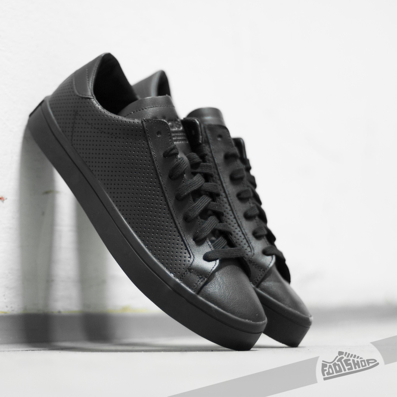 adidas court vantage core black ftwwhite core black footshop. Black Bedroom Furniture Sets. Home Design Ideas