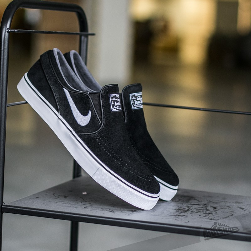 Nike Zoom Stefan Janoski Slip Black/ White | Footshop