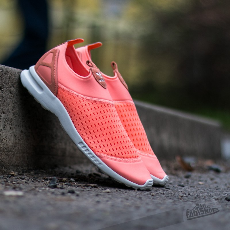 b9c562ff70476 adidas Originals ZX Flux Slip On Trainer