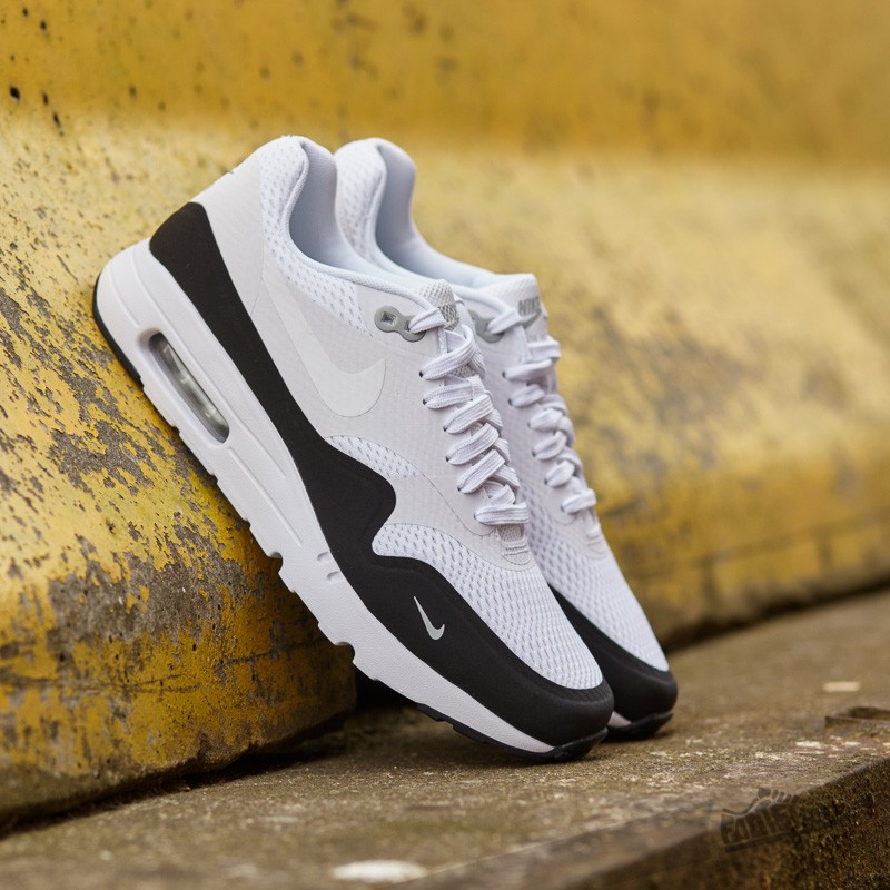nike air max 1 white/black wolf grey