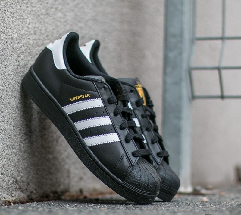 adidas SUPERSTAR Core Black/White/Core Black Hype DC