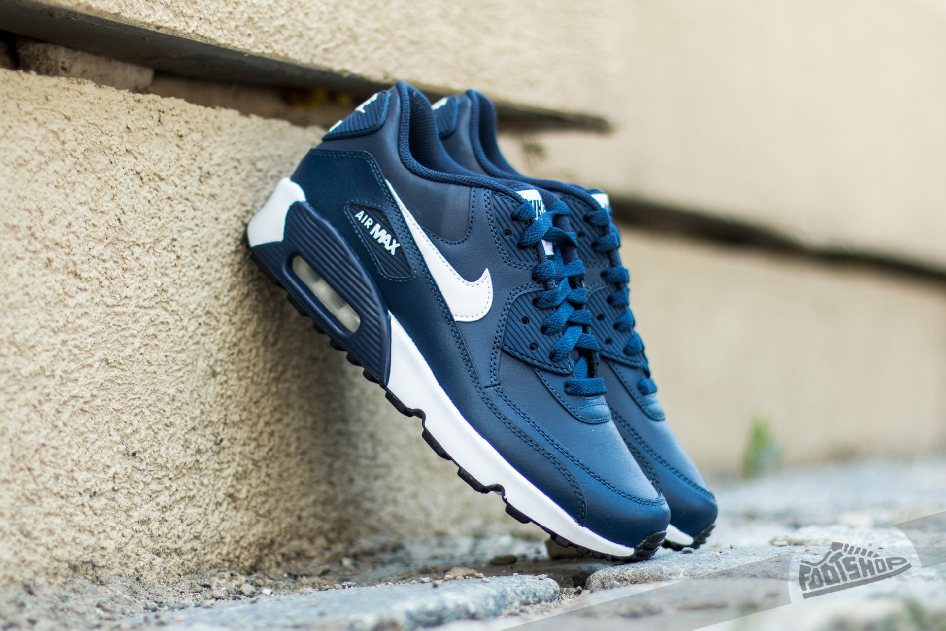 nike air max 90 black navy blue white