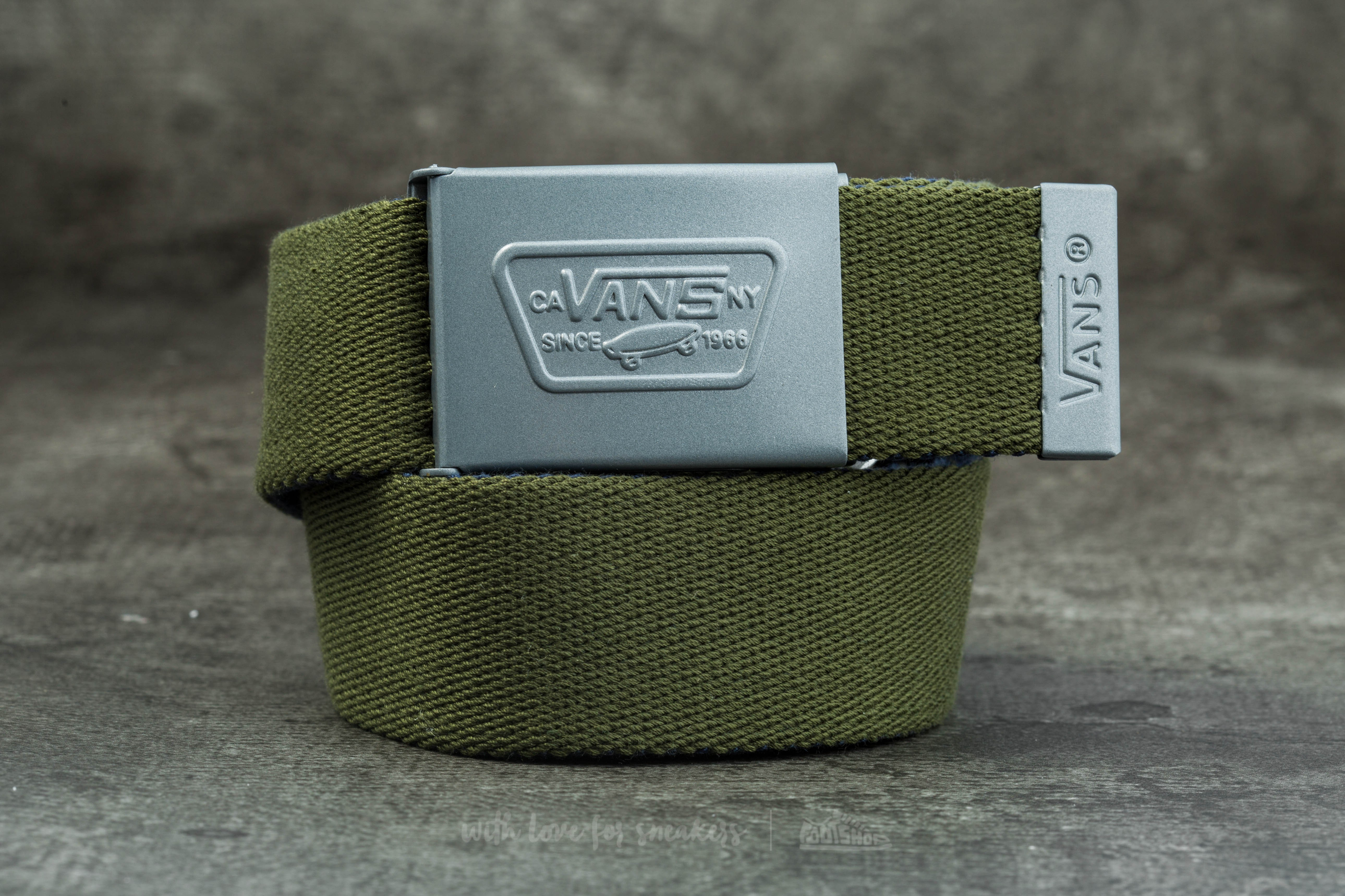 Vans Knox Web Belt Rifle Green/ Dress Blues